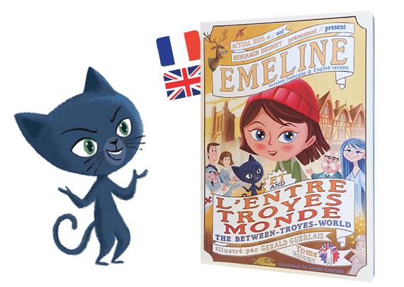 Emeline et l'Entre-Troyes-Monde version bilingue