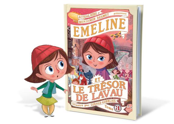 Emeline et le trésor de Lavau